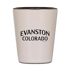 Evanston Colorado Shot Glass
