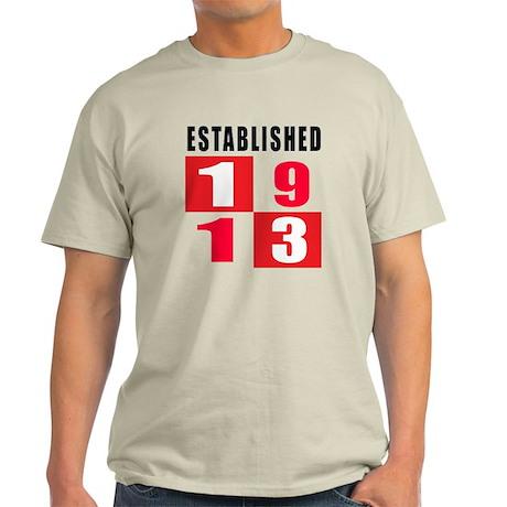 Established 1913 Light T-Shirt