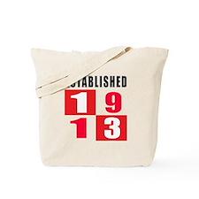 Established 1913 Tote Bag