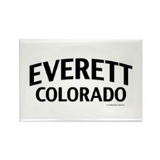 Everett Colorado Rectangle Magnet