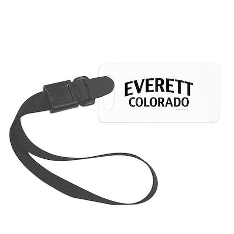 Everett Colorado Luggage Tag