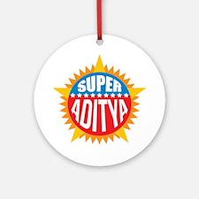 Super Aditya Ornament (Round)