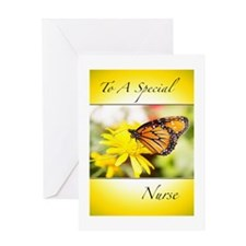 Happy Nurses Day Monarch Butterfly Greeting Card