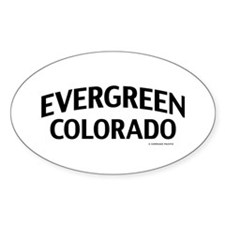 Evergreen Colorado Decal