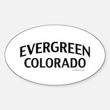 Evergreen Colorado Decal