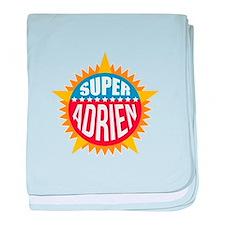 Super Adrien baby blanket