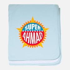 Super Ahmad baby blanket