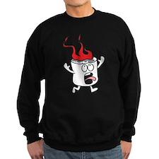 Flaming Marshmallow Sweatshirt