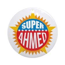 Super Ahmed Ornament (Round)