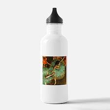 Degas Dancer Green Ballet Impressionist Water Bott