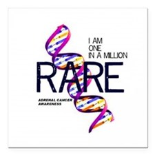 "One In A Million Square Car Magnet 3"" x 3"""