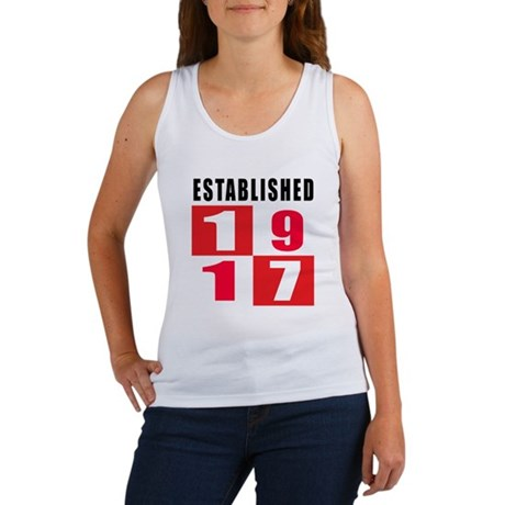 Established 1917 Women's Tank Top