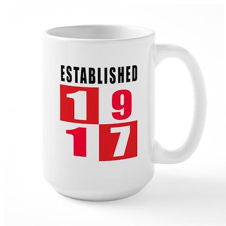 Established 1917 Large Mug