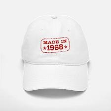 Made In 1968 Baseball Baseball Cap