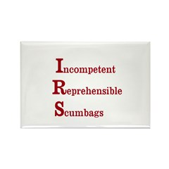 IRS Rectangle Magnet (10 pack)