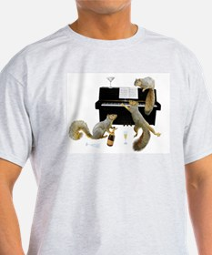 Squirrels at the Piano T-Shirt