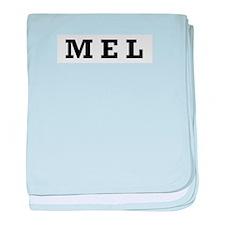 Mel baby blanket