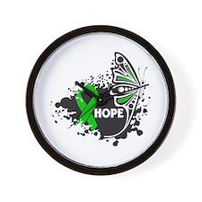 Neurofibromatosis Butterfly Wall Clock