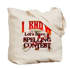 Spelling Contest Tote Bag