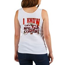 Spelling Contest Tank Top