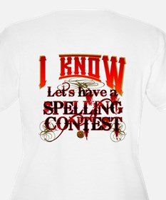 Spelling Contest Plus Size T-Shirt