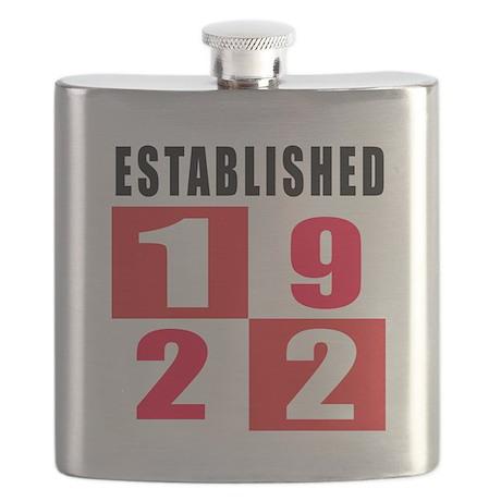 Established 1922 Flask