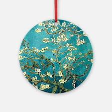 Van Gogh Almond Blossoms Tree Ornament (Round)