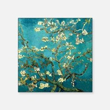 Van Gogh Almond Blossoms Tree Sticker