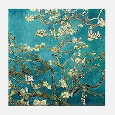 Van Gogh Almond Blossoms Tree Tile Coaster