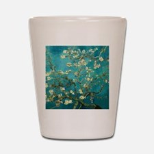 Van Gogh Almond Blossoms Tree Shot Glass