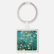 Van Gogh Almond Blossoms Tree Keychains