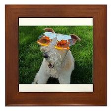 Beer Goggles Framed Tile