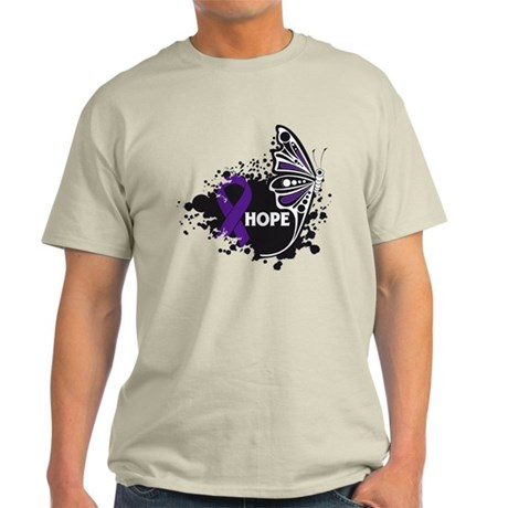 Lupus Hope Butterfly Light T-Shirt