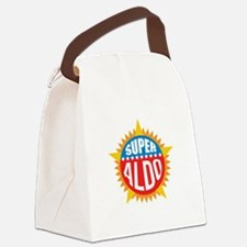 Super Aldo Canvas Lunch Bag