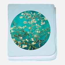 Van Gogh Almond Blossoms Tree baby blanket
