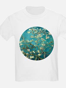 Van Gogh Almond Blossoms Tree T-Shirt