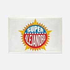Super Alejandro Rectangle Magnet