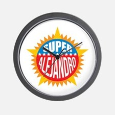 Super Alejandro Wall Clock