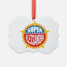 Super Alessandro Ornament