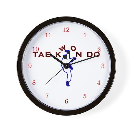 TKD Kicks Wall Clock
