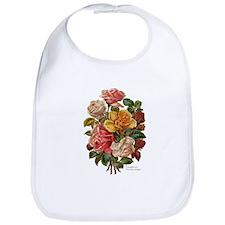 Victorian Roses Bouquet Vinta Bib