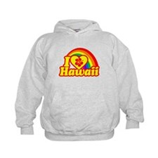 I Love Hawaii Hoodie