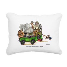 WE are READY too! Rectangular Canvas Pillow