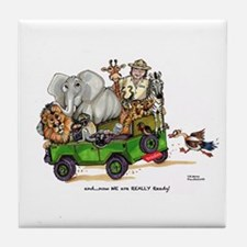 WE are READY too! Tile Coaster