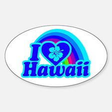 I Love Hawaii Decal
