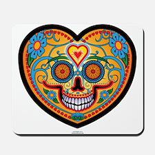 I Love EL Dia DE LOS MUERTOS Mousepad