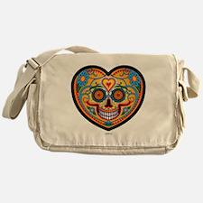 I Love EL Dia DE LOS MUERTOS Messenger Bag