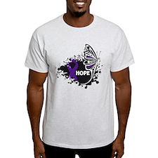 Epilepsy Hope Butterfly T-Shirt