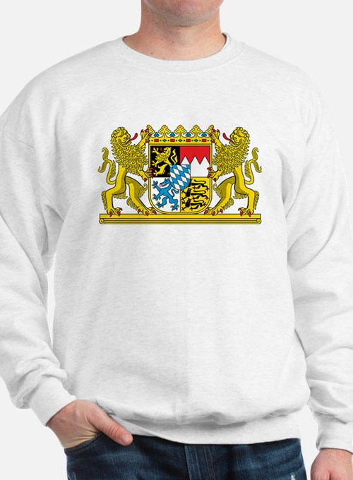 The coat of arms of the German state of Bavaria Sw