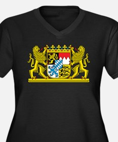 The coat of arms of the German state of Bavaria Pl